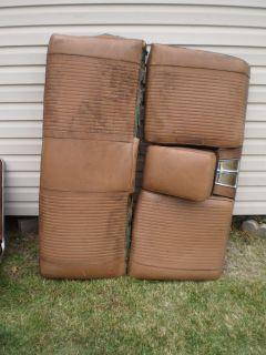 1962 62 PONTIAC GRAND PRIX CATALINA REAR BACK SEAT W ARMREST SPEAKER 421 389 OUT OF 2 DOOR HARDTOP