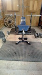 300lb Olympic Marcy Weight Set- SOLD