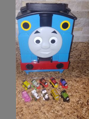 Thomas case and trains