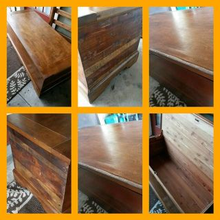$200, Antique Cedar Trunk