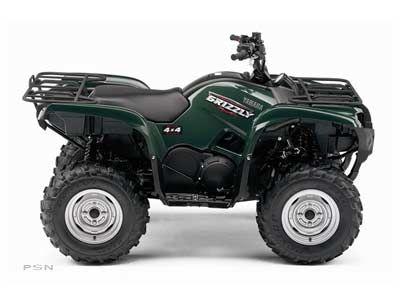 2008 Yamaha Grizzly 700 FI Auto. 4x4 EPS Utility ATVs Hays, KS