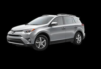2018 Toyota RAV4 LE Hybrid AWD-i (Silver Sky Metallic)