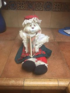 House of Lloyd Grannie Flo Bunny from Christmas Around the World collection