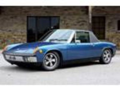 1970 Porsche 914 Leather Seats