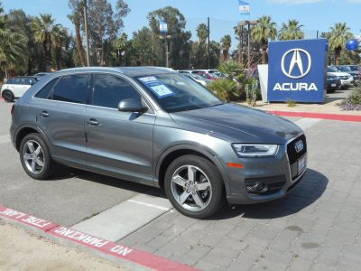 2015 Audi Q3 2.0T Premium Plus (Monsoon gray metallic)