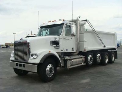 Unique financing program for dump truck owners