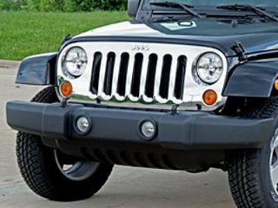 Sell NEW Jeep JK Wrangler MOPAR chrome grille 82210558AC motorcycle in Temecula, California, US, for US $312.06