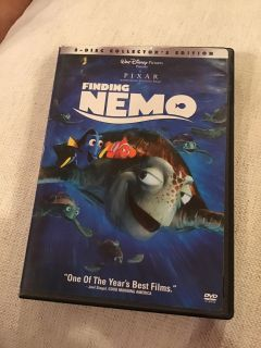Finding Nemo 2 disc collector s edition DVD