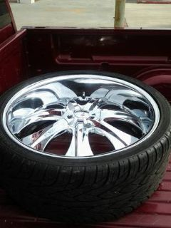 26 Rims Brand New Tires