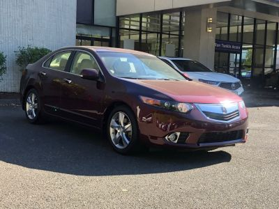 2012 Acura TSX Base (Red)