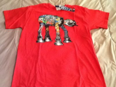 new with tags star wars shirt.