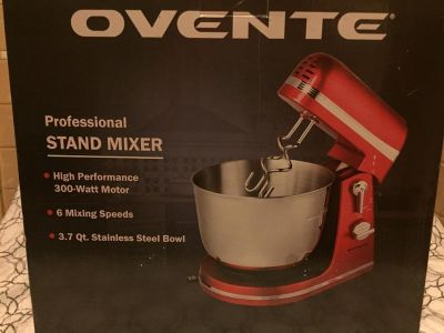 NEW Ovente Professional stand mixer