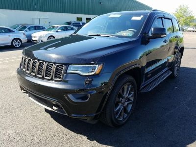 2016 Jeep Grand Cherokee 4WD 4dr Limited 75th Anniversa (Brilliant Black Crystal Pearlcoat)