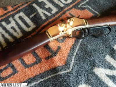 For Sale: Henry big boy brass 45-70