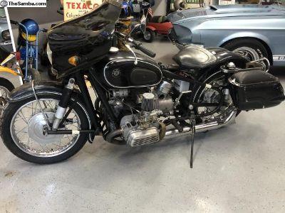 1959 VW BMW Motorcycle