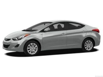 2013 Hyundai Elantra GLS (Radiant Silver)