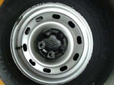 $100 Set of (4) 5 Lug Wheels and tires P245/70R17