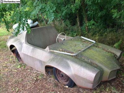 VW Camero Fiberglass Dune Rail Buggy Convertible