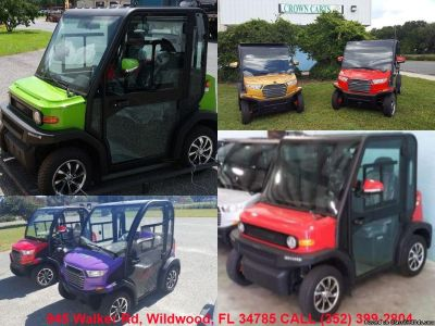 aIR CONDITIONING HEAT RADIO NEW GOLF CARTS FOR SALE