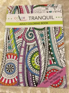 Color Me Tranquil Coloring Book (retail $5.3 G4