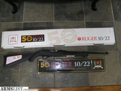 For Sale: Ruger 10/22 50th Anniversary Collector Series