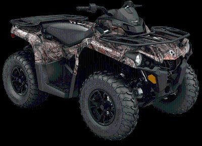 2018 Can-Am Outlander DPS 450 Utility ATVs Grantville, PA