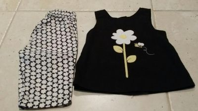 Gymboree 18-24 month flower outfit