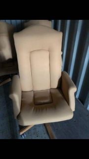 Steel case executive office chairs