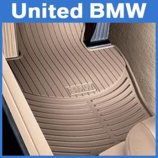 Find BMW 3 Series Front Rubber Floor Mats E46 325xi 330xi Sedan & Wgn 1999-2005 Beige motorcycle in Roswell, Georgia, US, for US $55.00