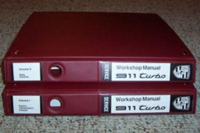 Porsche 930 Turbo Factory Workshop Manuals