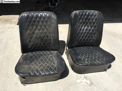 Set of Recovered Ghia Seats