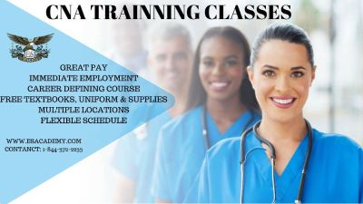 Become a CNA now at E&S Academy!