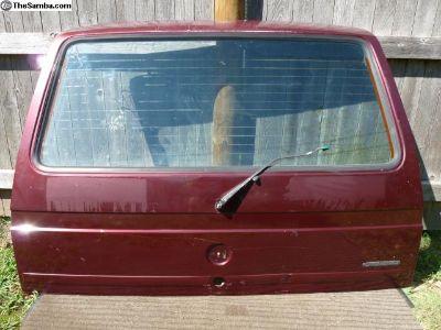 Vanagon rear hatch