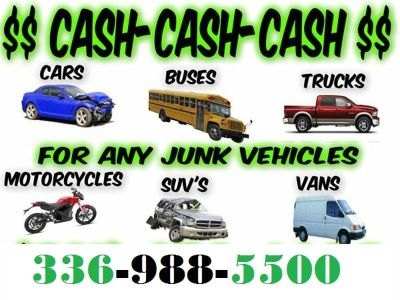 Paying Cash for wrecked broken unwanted 4x4's, Diesels, Equipment etc