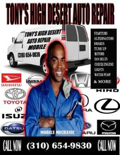 Top Quality Mobile Mechanic, Auto Repair