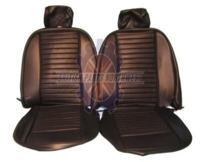 Purchase TRIUMPH TR6 SEAT COVER SET BLACK VINYL NEW SC2045A 73 to 76 motorcycle in Sarasota, Florida, US, for US $549.00