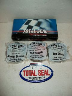 Buy Total Seal Gapless Racing Piston Rings TSS S1003-30 4.155 1/16 1/16 1/8 406 SBC motorcycle in High Ridge, Missouri, United States, for US $195.00