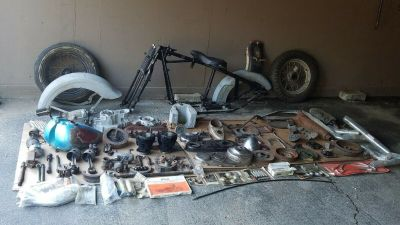 1941 HARLEY-DAVIDSON EL KNUCKLEHEAD BARN FIND PROJECT