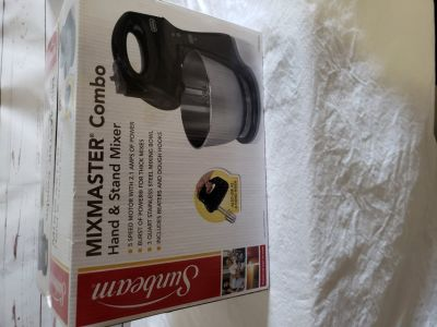 Sunbeam Mixmaster Combo, new