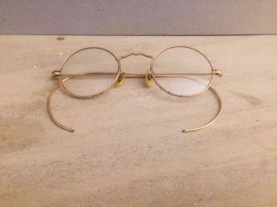 Old Pair of Eye Glasses with Case