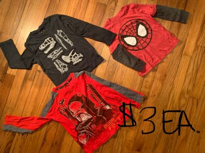 Boys clothes (shirts) 4T and 5T