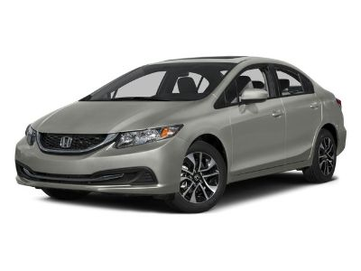 2015 Honda Civic EX (Modern Steel Metallic)