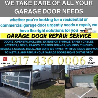 WE ARE ALWAYS AVAILABLE FOR ANY GARAGE DOOR REPAIR AND INSTALLATION SERVICE NEW YORK