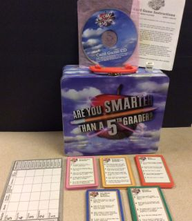 EEUC, Used Maybe Once, Are you Smarter Than a 5th Grader, Playing Cards with Tin Lunchbox