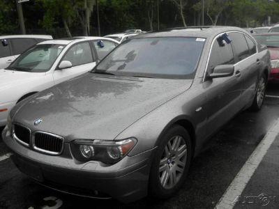 2003 BMW 7-Series 745i (Titanium Gray Metallic)