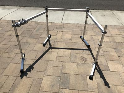 Pearl DR-503 (3 sided) with (3) PC-50 Clamps