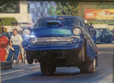 1957 Bel Air Drag Car