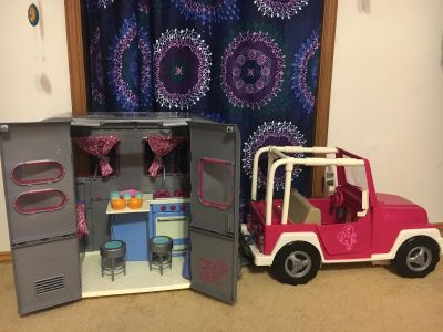 Our Generation Camper and Jeep (for American Girl dolls)