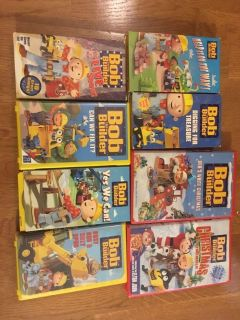 Bob the Builder VHS Tapes