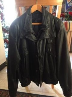 Reduced.. Leather Jacket / Wilson's Motorcycle